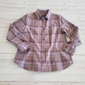 Pendleton 100% Wool Shirt Size L Flannel Shirt